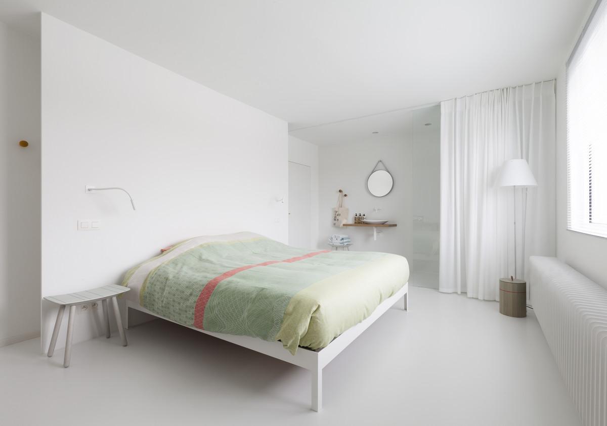 B b arck te tielrode projecten man architecten - Scheiding tussen twee kamers ...